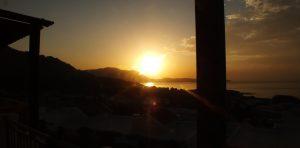 Wschód słońca wykonany przez mojego tatę